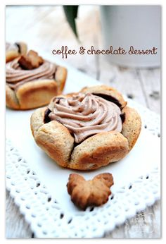 coffe and chocolate dessert