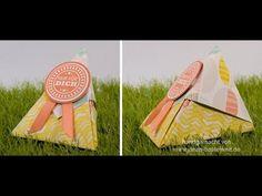 Janas Bastelwelt - Unabhängige Stampin' Up! Demonstratorin: Video-Tutorial: Origami-Verpackung im Sour-Cream-Style