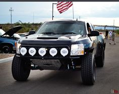 silverado american flag   prerunner