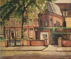 University House, Bethnal Green by Albert Turpin Camden London, Camden Town, London Art, East London, Bow Art, University Housing, Bethnal Green, London Calling, Mansions