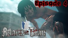 Attack on titan Episode 4 - Swallowed?! (PS4)