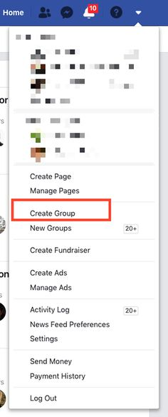 How to Create a Facebook Group Administrative Work, Create Page, Fundraising, Ads, Group, Facebook, Fundraisers