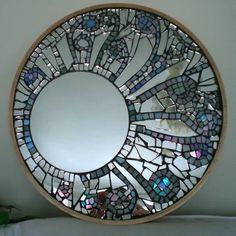 """Résultat de recherche d'images pour """"miroir mural en mosaique art"""""""