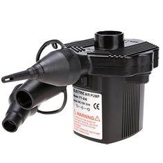 Homdox Elektrische Luftpumpe Elektropumpe Pumpe Auf-und Abpumpe 50W DC12V/AC230V