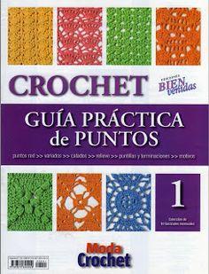 crochet stitch No 1 - designs) Knitting Books, Crochet Books, Love Crochet, Crochet For Kids, Crotchet Stitches, Crochet Stitches Patterns, Stitch Patterns, Knitting Magazine, Crochet Magazine