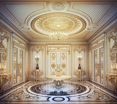 Classic Villa Interior by Aljuboori Abduljabbar