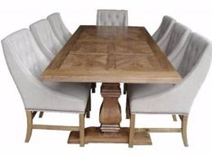 Hamptons Dining Table-Shop Online Furniture -Shipping Australian-wide – Henry & Oliver Co. Dining Table Price, Dining Table Dimensions, Glass Top Dining Table, Pedestal Dining Table, Wooden Dining Tables, Round Dining Table, Table And Chairs, Dining Chairs, Dining Room