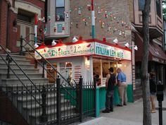 Mario's Italian Ice - People really lined up for this on those stifling summer nights :)