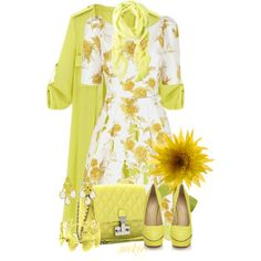Yellow Trench Coat by jackie22 on Polyvore