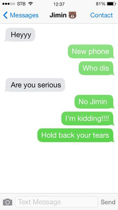 Hehehe the little bear next to Jimin's name is so cute completely represe - Blakely Baby Name - Ideas of Blakely Baby Name - Hehehe the little bear next to Jimin's name is so cute completely represents him Bts Boys, Bts Bangtan Boy, Bts Jimin, Fake Text Message, Text Messages, Bts Texts, Funny Texts, Bts Snapchats, Text Imagines