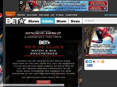 BET Web of Clues Watch & Win Sweepstakes