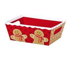 "Small Market Tray Gingerbread Man 9"" x 7"" x 3½""-58296"