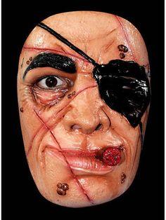 "https://11ter11ter.de/30081916.html Latexmaske ""Pirat"" für Erwachsene #Karneval #Fasching #Mottoparty #Pirat #11ter11ter #Outfit #Kostüm #Maske #Latex"