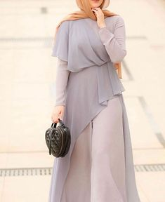 Modest Fashion Hijab, Modest Outfits, Hijab Style Dress, Casual Hijab Outfit, Muslim Fashion, Abaya Fashion, Fashion Wear, Classy Outfits, Fashion Dresses