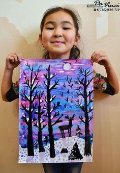 Winter Art Ideas For Toddlers Kids 41 Ideas Christmas Art Projects, Winter Art Projects, Projects For Kids, Art Lessons For Kids, Art Lessons Elementary, Art For Kids, 4th Grade Art, Art Drawings For Kids, Art Lesson Plans
