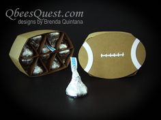 Qbee's Quest: Hershey's Football: A Superbowl Favorite