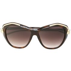Cartier 'Panthère Wild' sunglasses (99.230 RUB) ❤ liked on Polyvore featuring accessories, eyewear, sunglasses, brown, cartier sunglasses, tortoise shell sunglasses, tortoiseshell sunglasses, cartier eyewear and tortoise sunglasses