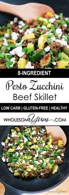 Pesto Zucchini Beef