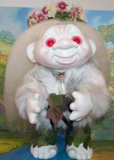 Troll Dolls, Hello Dolly, Diy Arts And Crafts, Rogues, My Childhood, Vintage Toys, Christmas Ornaments, Studio, Retro