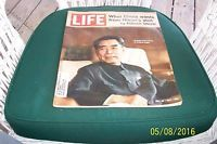 VTG LIFE MAGAZINE 1971 WHAT CHINA WANTS FROM NIXON'S VISIT BY EDGAR SNOW