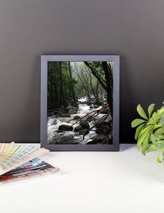 Foggy Mountain Forest - Framed Photo Print