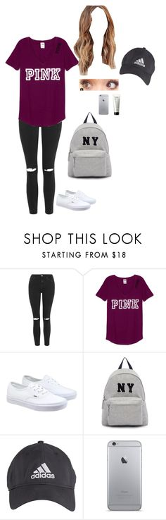 """""""Not that good"""" by niall-lover34 ❤ liked on Polyvore featuring Topshop, Vans, Joshua's, adidas and philosophy"""