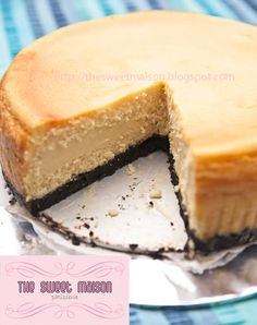 White Chocolate Cheese Cake.   Please. Please. Please. Please. That is all I want right now. Cheeeeeeeeese cake...