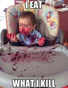 I kill blueberries...