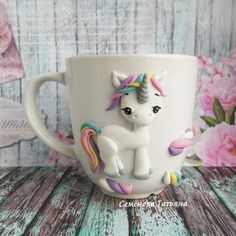 Unicorn Clay Cup