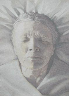 """Birth And Death, Both A Birth Diptych 47x79""""/120x200cm 2002-2003- Malin Alger"""