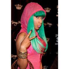 An image of Nicki Minaj ❤ liked on Polyvore featuring nicki minaj, nicki and nicki manaj