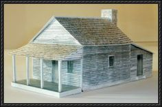 Berry-Lincoln Store Free Building Paper Model Download