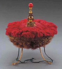 Imperial prince's pat with ruby, Qing Dynasty, 1644-1908 AD.