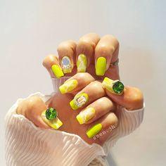 Green Nails, Green Toe Nails, Green Nail