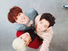 Yugyeom, Jackson & BamBam | ASC twitter update [160329] GOT7