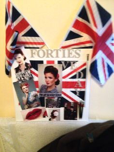 VE Day mood board for create an image hair
