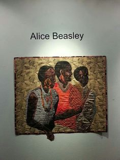 Alice beasley quilted art work