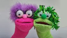 How To Make A fab Sock Puppet