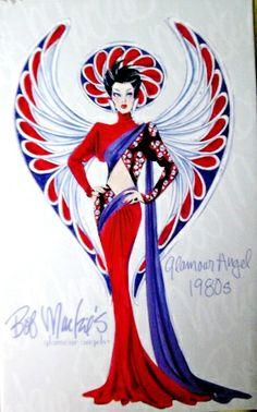 Bob Mackie 1080's Glamour Angel
