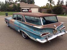 '59 Chevy Kingswood Impala 9 Passenger Wagon
