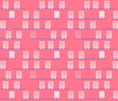 fabric by pacamo on Spoonflower - custom fabric Custom Fabric, Spoonflower, Robot, Gift Wrapping, Digital, Prints, Pattern, Design, Gift Wrapping Paper