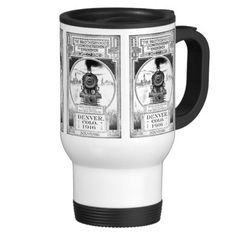 Brotherhood of Locomotive Firemen &; Enginemen Mugs; $24.15 - #stanrail - Be in style when you're on the go with our stainless steel travel/commuter mug. This spill-proof commuter mug has a removable plastic top and looks good adorned with your favorite pictures. The Brotherhood of Locomotive Firemen and Enginemen Twenty Seventh Convention. #stanrails_store