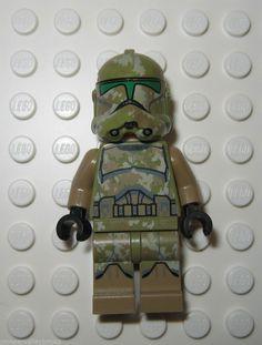 LEGO Star Wars 41st Kashyyyk Clone Trooper Minifigure Brand New 2014 75035 #LEGO