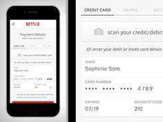 Day 002 of Daily UI: Credit Card Check Out