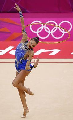 yevgenia kanayeva    rhythmic gymnastics champion