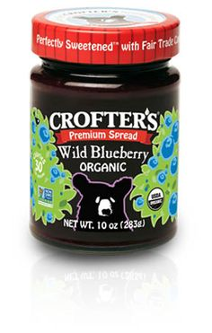 Crofters Organic - Products - Wild Blueberry - Premium Spreads - US