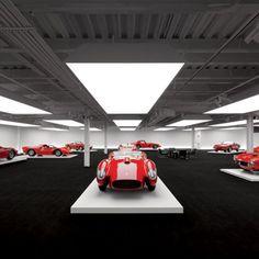 Sports Car Showroom Lighting