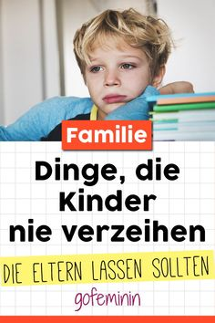 Diese Dinge werden euch eure Kinder nie verzeihen For parents, the level between educational measures and hurtful behavior is sometimes a very narrow one. We'll reveal what parents should never do or say. Parenting Advice, Kids And Parenting, Parents, Salud Natural, First Time Moms, Kids Health, Children Health, Baby Hacks, Baby Tips