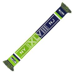 Super Bowl XLVIII 48 2014 NFL Seattle Seahawks Going To The Game Scarf