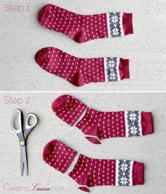 Arm Stulpen aus Socken